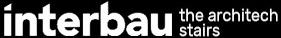 Interbau Scale di Design in Legno, Ferro e Vetro. Logo